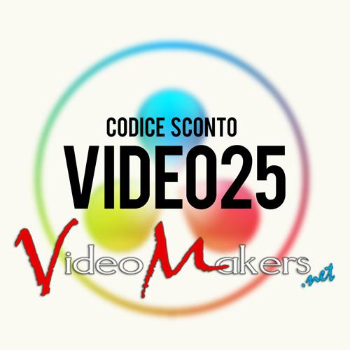 Sconto 25 VideoMakers